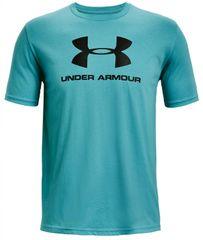 Under Armour Tričko Sportstyle Logo Ss Modrá