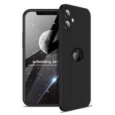 GKK 360 Full Body plastika ovitek za iPhone 12 mini, črna