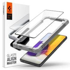 Spigen Glas.Tr Full Cover zaščitno steklo za Samsung Galaxy A52 LTE / 5G, črna