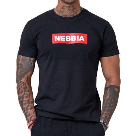 Nebbia férfi alap póló, férfi alap póló | 5930160 | FEKETE XXL