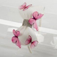 DAGA kidswear Dievčenská čelenka motýle DAGA-Daga collection