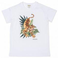 KENZO kids Detské tričko s potlačou tigra KENZO-KENZO Kids