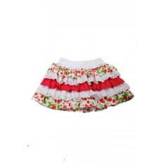 DAGA kidswear Dievčenská sukňa s jahodami DAGA-Daga collection