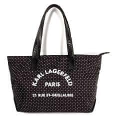 KARL LAGERFELD kids Dievčenská taška čierna KARL LAGERFELD -Karl Lagerfeld Kids