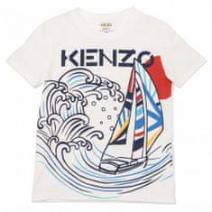 KENZO kids Chlapčenské tričko s potlačou plachetnice KENZO-KENZO Kids