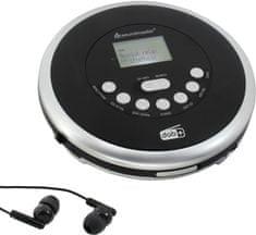 Soundmaster CD9290SW, čierna/strieborná