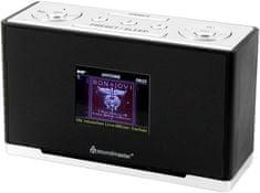 Soundmaster UR240SW, radiobudík s DAB+, černá/stříbrná