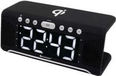 Soundmaster UR800SW, radiobudík s Qi, černá