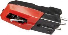 Soundmaster NADEL02, Gramofonová přenoska, černá/červená