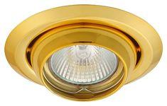 Greenlux Greenlux AXL 2117-G, priemer 100 mm - Podhĺadové bodové svietidlo zlatá 8592661002278