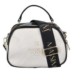 Laura Biaggi Trendová dámská kabelka MCO Luxury, stříbrná
