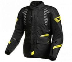 Macna Bunda na moto Ultimax black/yellow fluo