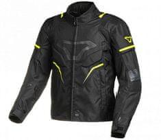 Macna Bunda na moto Adept black/yellow fluo