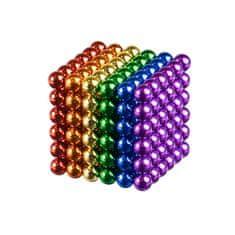 Neocube Berger 6 barev magnetické kuličky 5 mm 216 ks