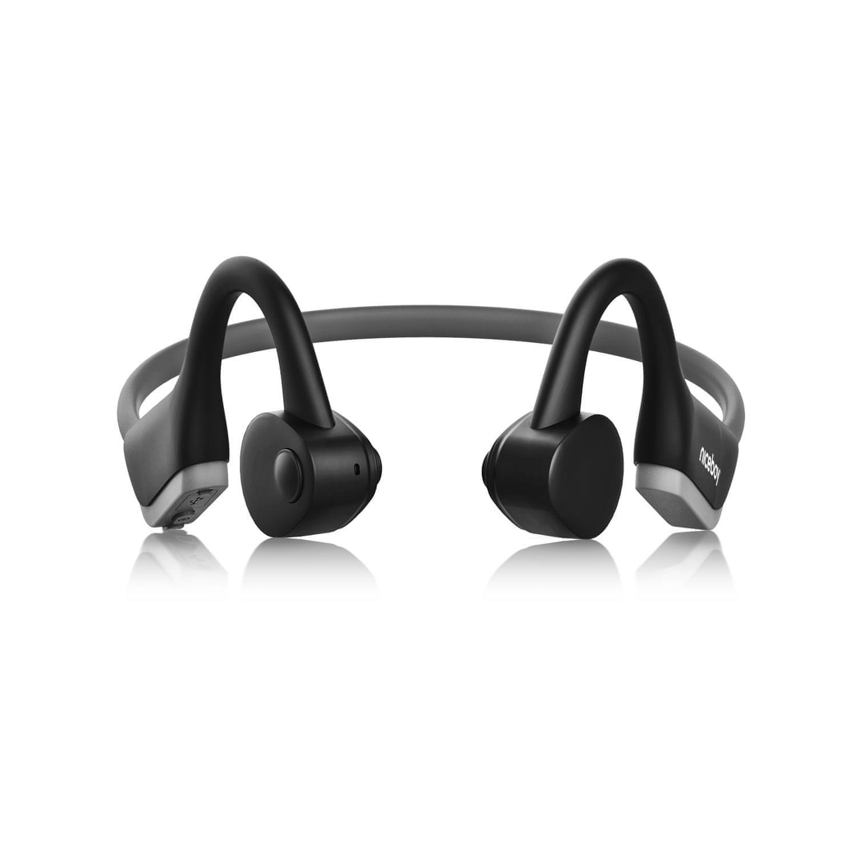 Bluetooth 5.0 slúchadlá športové niceboy hive bones 2 výborný zvuk ľahučké chránené proti vode IP55 vhodné pre športovanie výdrž 8 h na nabitie aac kodek A2DP profil