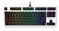 UVI Pride Mini PBT WE SLAV Edition gaming tipkovnica, Optical Blue Switch, US