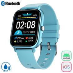 Trevi T-Fit 270 sportski sat, Bluetooth, IP67, plavi