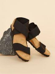 OJJU černé dámské sandálky