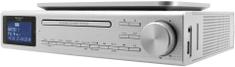 Soundmaster UR2195SI, kuchyňské rádio s CD strieborná