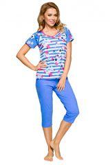 Ženska pižama 911 light blue