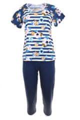 Ženska pižama 911 dark blue