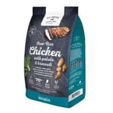 GO NATIVE Chicken with Potato and Brocolli 4kg ultra prémium kutyatáp 70% hústartalommal