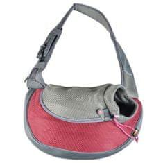 EBI textil táska Sarah bordó M - 34x19x47,5cm