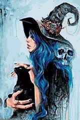 Kouzelný Art Modrá čarodejnice
