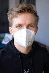 Nano Medical Nanovlákenný respirátor FFP2 Nano Med. Clean – bílý Barva: Bílá, Balení: 5 ks