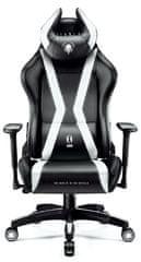 Diablo Chairs X-Horn 2.0, černá/bílá (5902560336986)