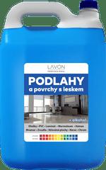 LAVON profesional podlahy s leskem 5 l modré