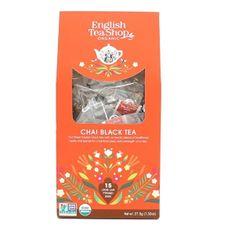 English Tea Shop Černý čaj Chai 15 pyramidek sypaného čaje