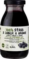 Zdravo šťava 100% jablkovo-aróniová 0,200l (bal. 10ks)