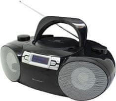Soundmaster SCD8100SW, Boombox s CD, DAB+/FM a BT čierna