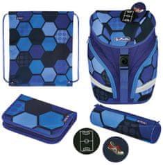 Herlitz Soft Light Plus školski ruksak, lopta, raznobojna