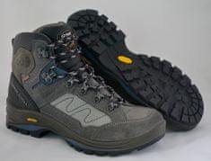 Grisport Polvisoki treking čevlji 12835 sivi/modri/rjavi