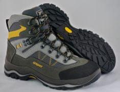 Grisport Polvisoki treking čevlji 11225, sivi/rumeni