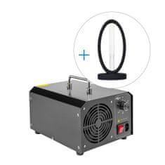 MB Systems Set: Ozonove Generátore 5000 mg/h + UV designová lampa Čau viry! 36W zdarma
