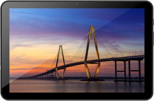 Tablet iGet SMART L205 smukły, kompaktowe rozmiary, duży wyświetlacz długa żywotność baterii Android 10 ekran IPS tylny i przedni aparat Bluetooth 4.2 Wifi OTG najnowsze LTE 4G 3G szybki internet GPS czujnik pozycji wysoka rozdzielczość ekranu podróżny tablet wideorozmowy duża pojemność baterii