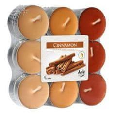 Bispol vonné čajové svíčky Cinnamon 18ks