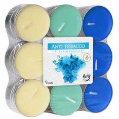 Bispol vonné čajové svíčky Anti Tobabcco 18ks