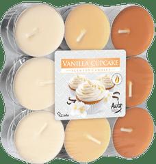 Bispol vonné čajové svíčky vanilla cupcake 18ks