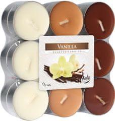 Bispol vonné čajové svíčky Vanilla 18ks