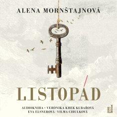 Mornštajnová Alena: Listopád - MP3-CD