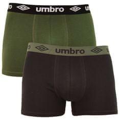 Umbro 2PACK pánske boxerky viacfarebné (UMUM0304 A)