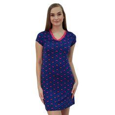 Cocoon Secret Dámská noční košile modrá (COC877-KG)