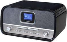 Soundmaster DAB970SW, Hi-Fi systém s DAB+/FM čierna/strieborná