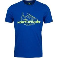 Northfinder Pánské triko Allan Regular Fit TR-3540OR 281 Blue