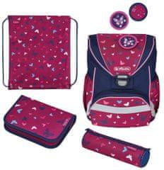 Herlitz školska torba UltraLight, leptiri, šarena