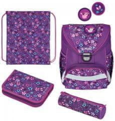 Herlitz školska torba UltraLight, cvijeće